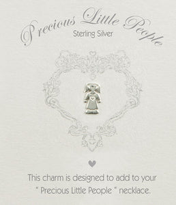 Precious Little People Girl Charm