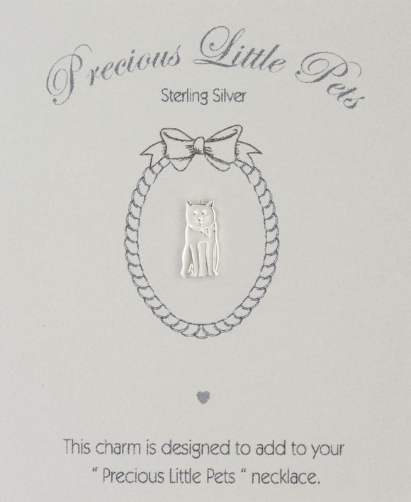 Precious Little Pets Cat Charm