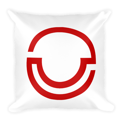 Logo Square Pillow