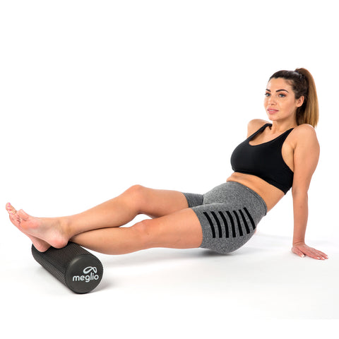 rouleau exercice massage haute densite yoga pilates crossfit souplesse assouplissement