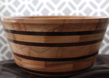 Myrtle and Walnut Banded Bowl