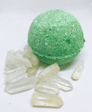 Rosemary Lemongrass Quartz Bath Bomb
