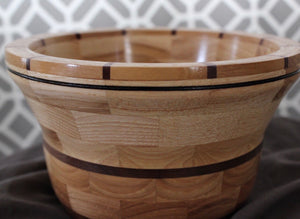 Hickory, Walnut, Padauk and Myrtle Bowl