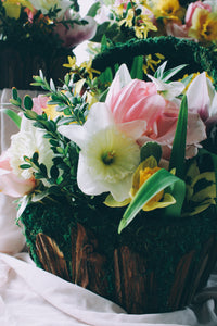 Easter Basket of Blooms