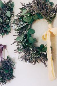 Medium Lavender Hoop Wreath