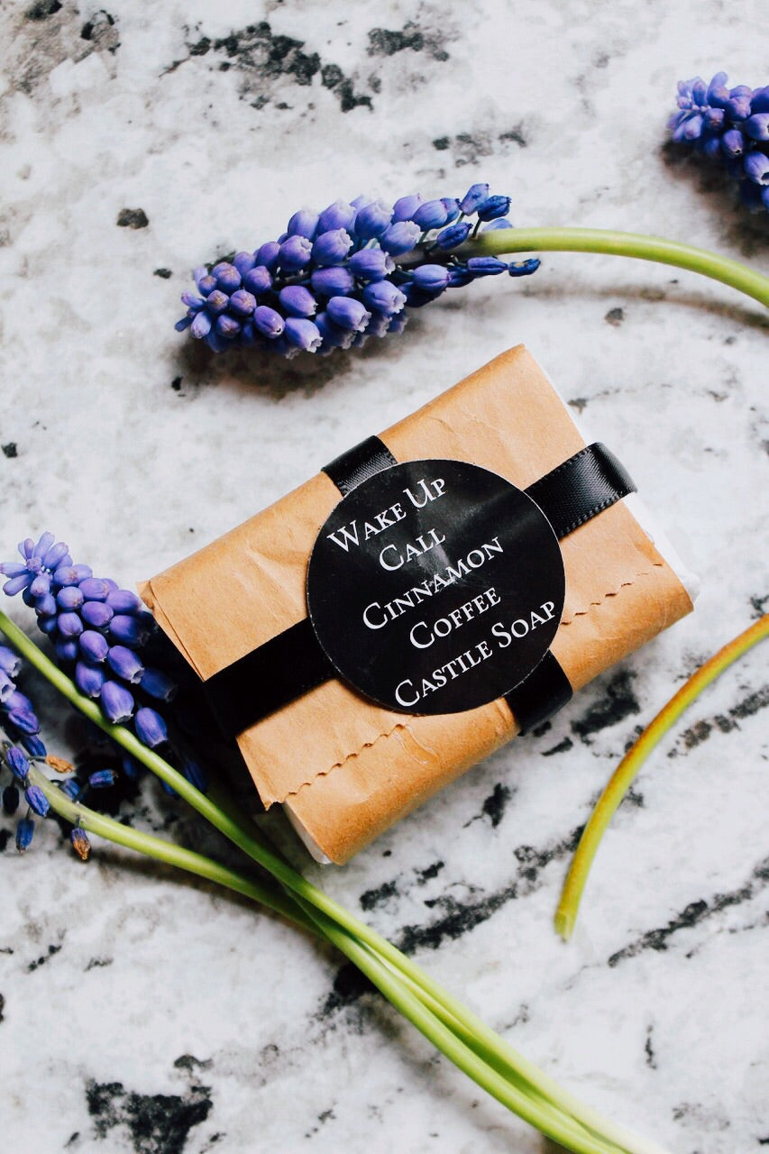 Wake Up Call Cinnamon Coffee Body Soap
