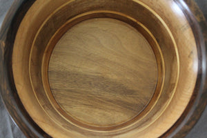 Myrtle and Pine Striped Bowl