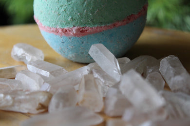 Rainbow Quartz Bath Bomb