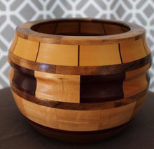 Block Wave Small Bowl