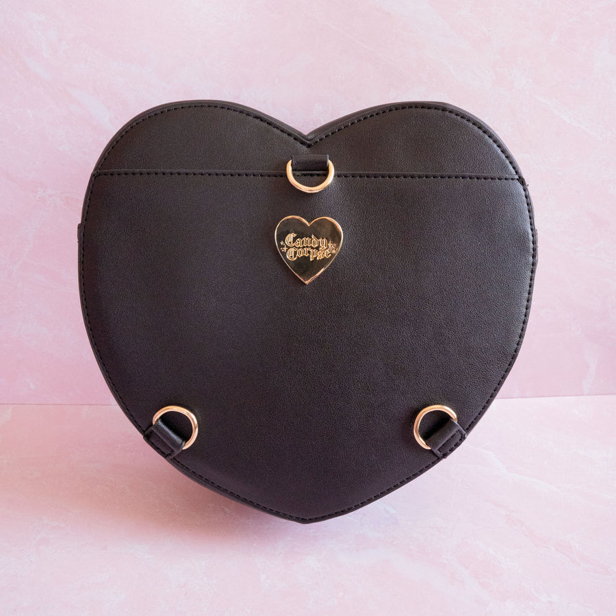 Black Heart Ita Bag