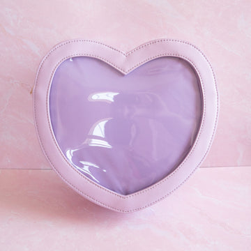 Lavender Heart Ita Bag