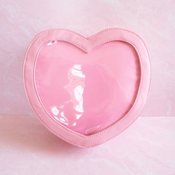 Pink Heart Ita Bag