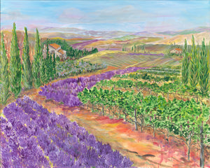 """Essence of Tuscany"" by Phyllis Shipley"