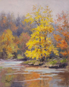 """Golden Fall"" by Theresa Shelton"