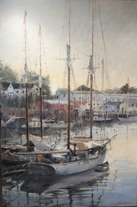 """Harbor Morning"" by Tom Bluemlien"
