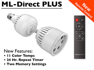 ML-Direct-Plus LED Smart Bulb Directional Picture Accent Light with Remote Control
