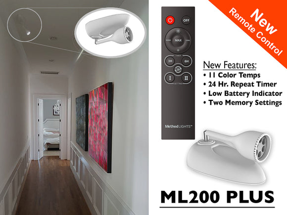 Method Lights ML200 PLUS - Wireless Picture Accent Light with Remote