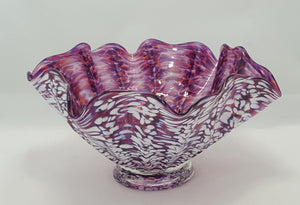 Blown glass bowl By Brook White
