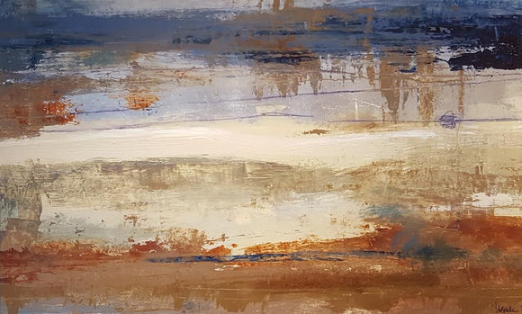 Abstract Landscape 2915 by Ursula Brenner