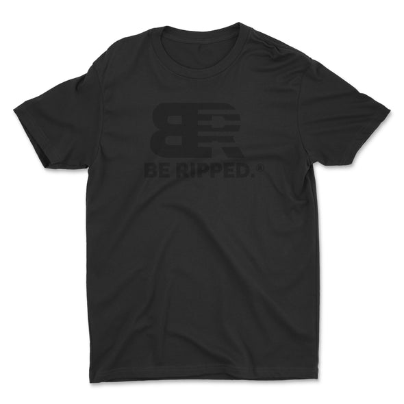 Black on Black - Be Ripped Bold Tee
