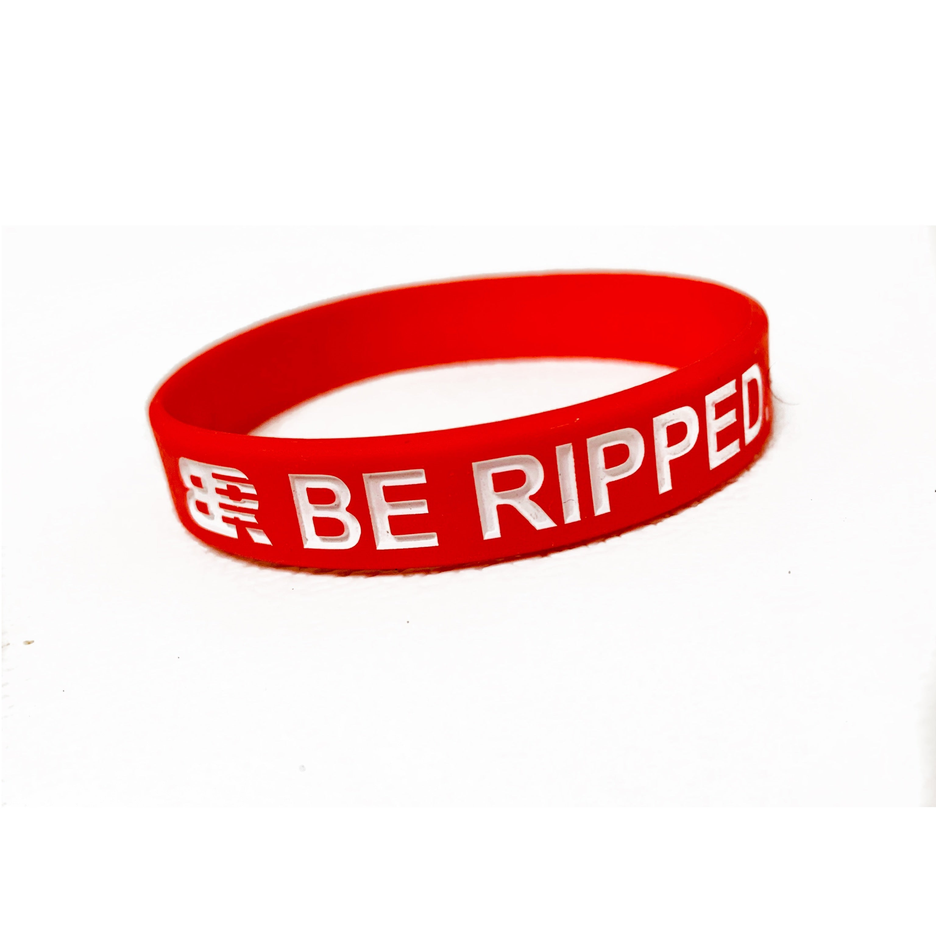 RED BE RIPPED.® WRISTBAND