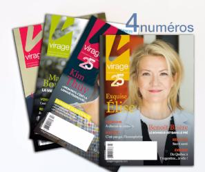 Abonnement magazine Virage 1 an