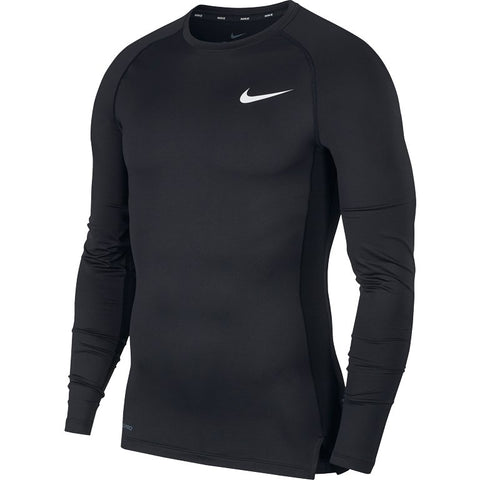 Nike Pro Men's Tight-Fit Long-Sleeve TOP - BV5588-010