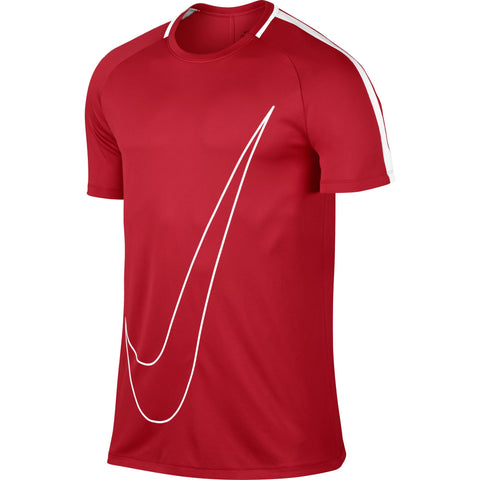 Nike Dry Academy Men's Top - Red/White 832985 657 - soccerkingstore