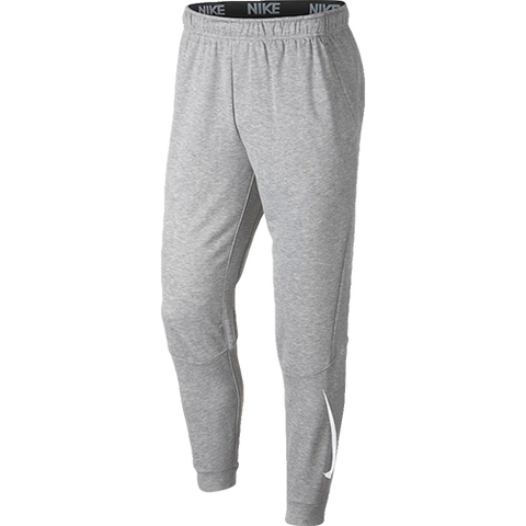 Nike Training Tapered Fleece Joggers In Grey 932245-063 - soccerkingstore