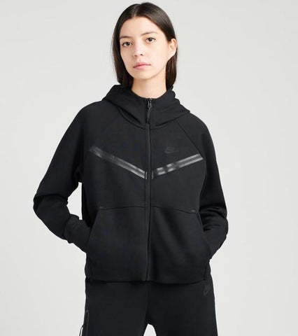Nike Sportswear Tech Fleece Women's Full-Zip Hoodie - CW4298-010 , Nike Sportswear Tech Fleece Women's Pants - CW4292-010