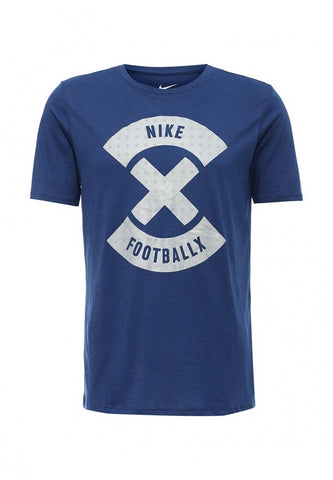 NIKE PERFORMANCE Football X Logo T-Shirt 806481 423 - soccerkingstore