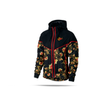 Nike Floral Printed Jacket & leggings Black Red - 922188 - 010 , 921644 - 010 - soccerkingstore