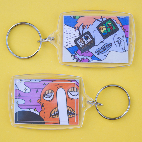 BROADCASTER & PRETTY THING keychain