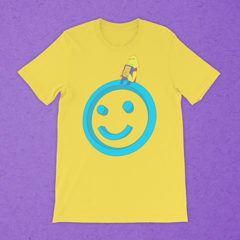 SMILE AND SIT t-shirt