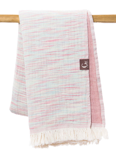 Gwery multicolor signature 100% cotton Portuguese beach towel