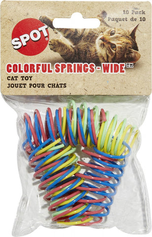 Ethical Pet Colorful Springs Wide Cat Toy