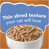 Friskies Savory Shreds with Chicken in Gravy Canned Cat Food