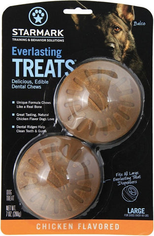 Starmark Everlasting Treats Chicken Flavor Dog Dental Chews