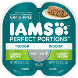 Iams Perfect Portions Indoor Turkey Pate Wet Cat Food Tray