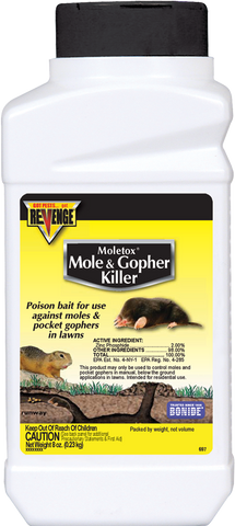 Moletox® Mole & Gopher Killer