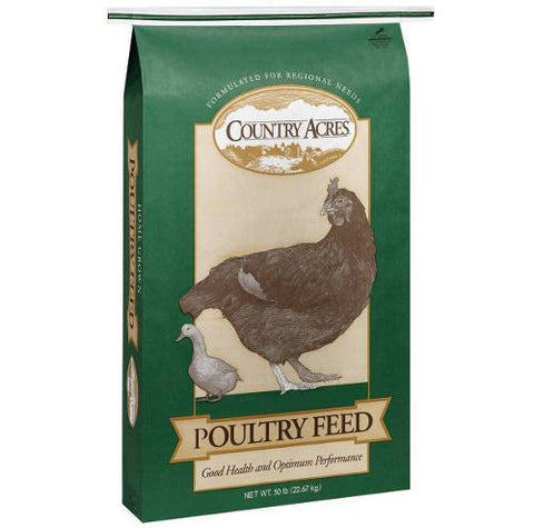 Purina Country Acres Layer 16% Poultry Feed