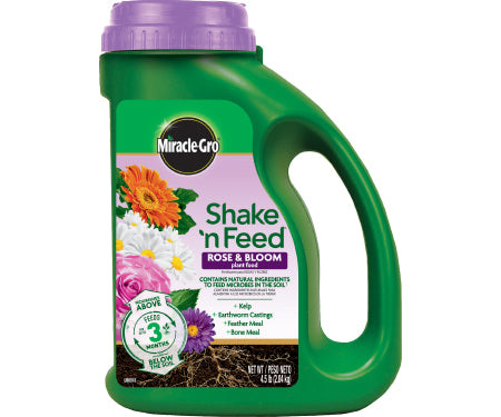 Miracle Gro Shake 'n Feed Rose & Bloom