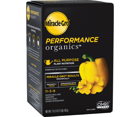 Miracle Gro Performance Organic All Purpose Plant Nutrition