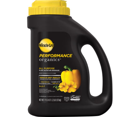 Miracle Gor Performance Organics Plant Nutrition Granules