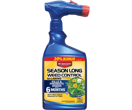 Season Long Weed Control for Lawns