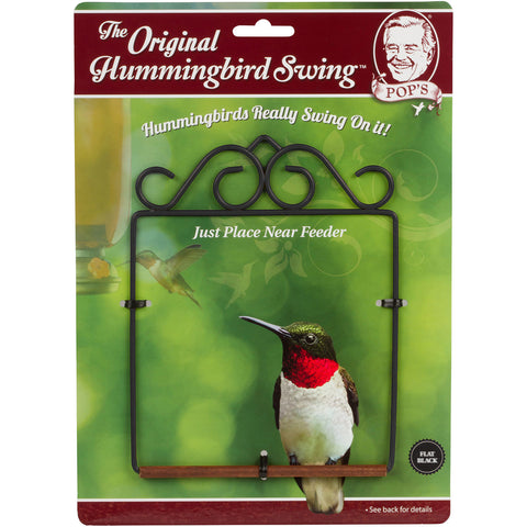 Pop's Original Hummingbird Swing!