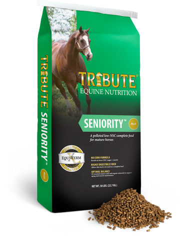 Tribute Seniority™ Pelleted Horse Feed
