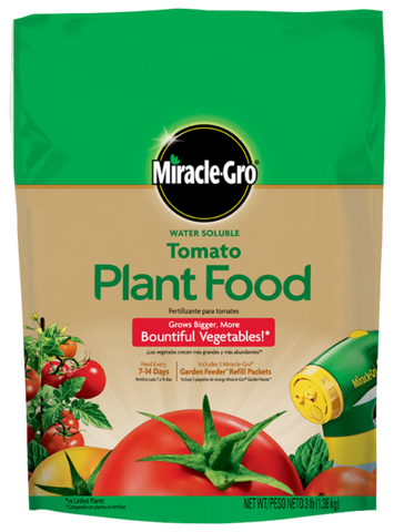 Miracle-Gro® Water Soluble Tomato Plant Food