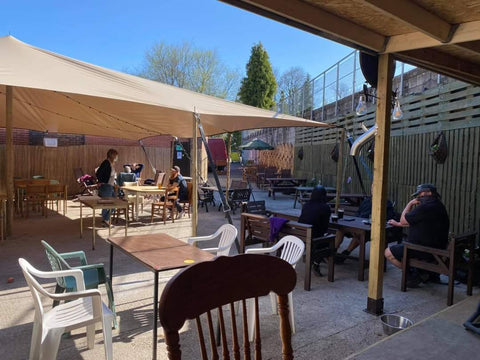 Cheshire Brewhouse undercover 170170-seat beer garden