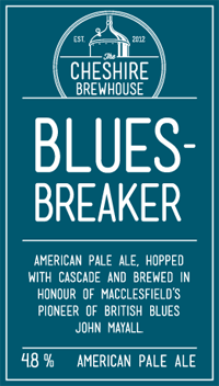 The Cheshire Brewhouse - Blues Breaker - American Pale Ale - 4.8%
